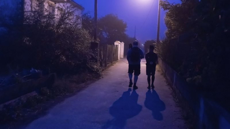 Walking the Camino at Night