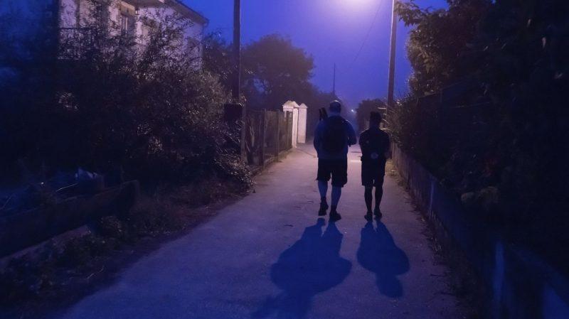 Walking the Camino at Night