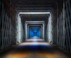 A Tunnel on the Camino De Santiago